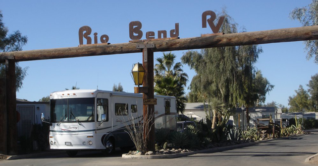 Rio Bend Entrance