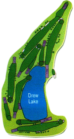 Lakeview Golf Course Map