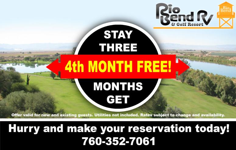 4th Month Free